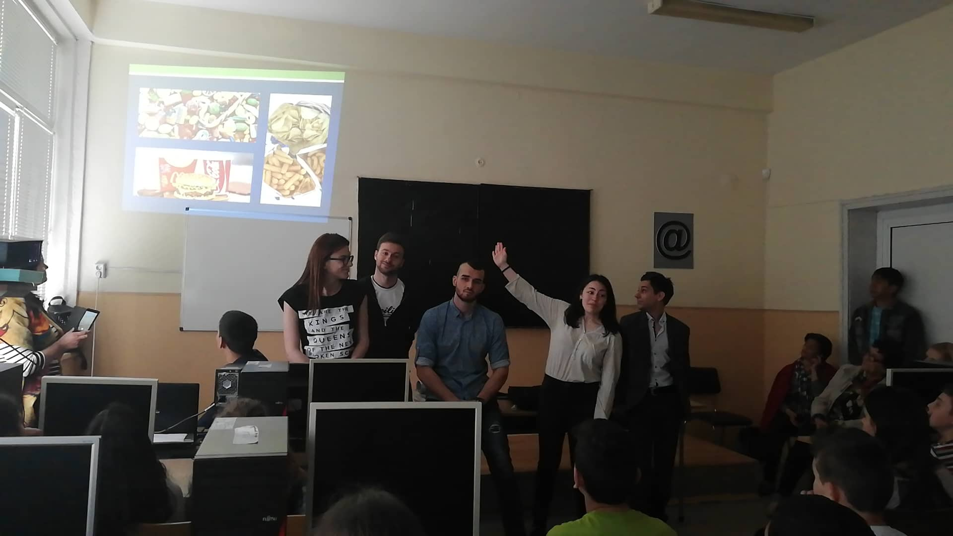 EUPHW Bulgaria school children and healthy nutrition