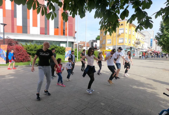 EUPHW flashmob in Bulgaria