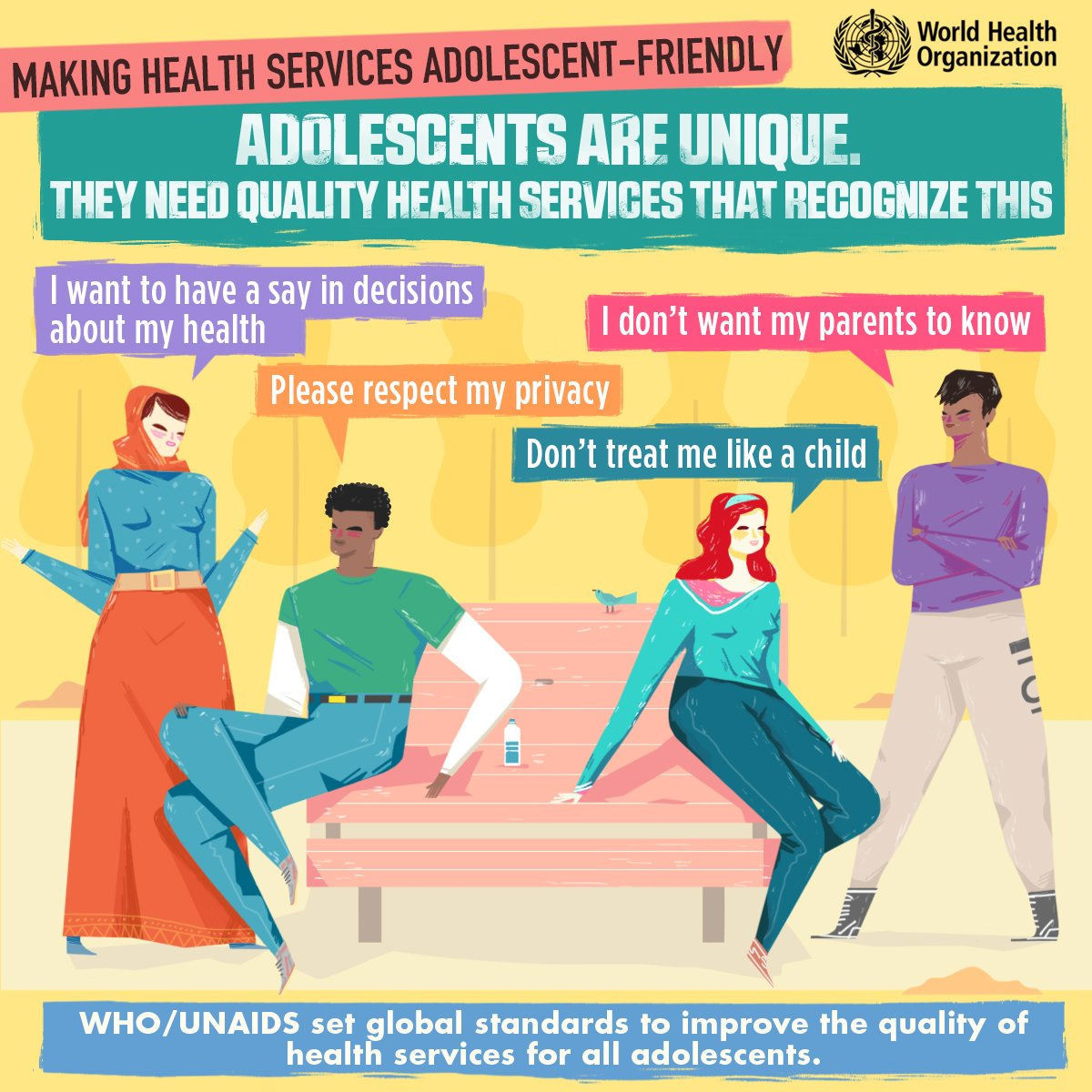 Making health services adolescent-friendly (Source: WHO)